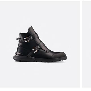 ディオール(Dior)の専用 dior カーフスキン レザー ブーツ(ブーツ)