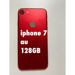 iPhone7 128GB Apple red スマートフォン 本体 携帯
