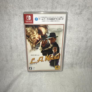 Nintendo Switch - L.A.ノワール Nintendo Switch版 スイッチ ソフト カセット