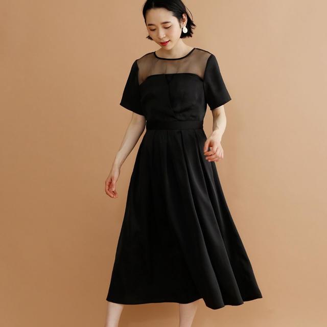 merlot(メルロー)のmerlot ビスチェ風 ワンピース ドレス レディースのフォーマル/ドレス(ロングドレス)の商品写真