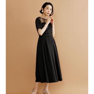 メルロー(merlot)のmerlot ビスチェ風 ワンピース ドレス(ロングドレス)