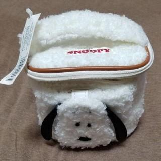 SNOOPY - スヌーピーのスクエアバニティポーチ定価2000円購入タグつき新品未使用です