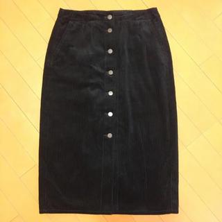 ジーユー(GU)のコーデュロイスカート(GU)[かこちん様専用](ロングスカート)