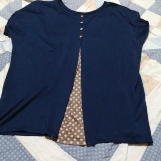 ゆったりめトップス (Tシャツ(半袖/袖なし))