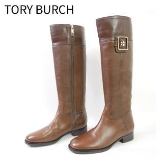 トリーバーチ(Tory Burch)のTORY BURCH トリーバーチ 7M ブラウン ロングブーツ(ブーツ)