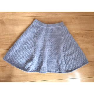 トランテアンソンドゥモード(31 Sons de mode)のニットフレアスカート♡(ひざ丈スカート)