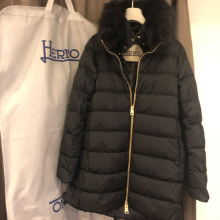 HERNO - 【未使用】HERNO ヘルノ ダウン 黒 2019年新作