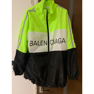 バレンシアガ(Balenciaga)のトラックジャケット バレンシアガ イエロー (ナイロンジャケット)