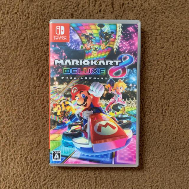 マリオカート8 デラックス エンタメ/ホビーのゲームソフト/ゲーム機本体(家庭用ゲームソフト)の商品写真