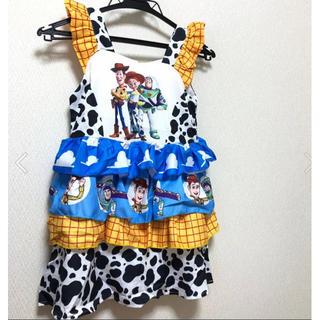 即発送★トイストーリー コスプレ ドレス 女の子 キッズ ジェシー  衣装(ワンピース)