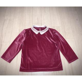 イートミー(EATME)の値下げ♡エブリン♡evelyn♡ベロアシャツ(ニット/セーター)
