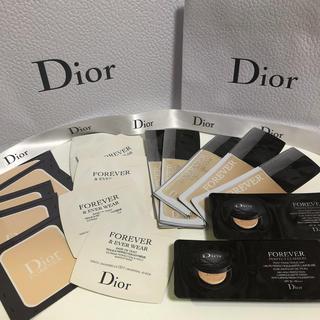 ディオール(Dior)のディオール ファンデーション&ベース 17点セット(サンプル/トライアルキット)