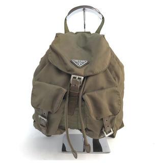 PRADA - ❤セール❤ PRADA プラダ リュック バック カーキ色 レディース 鞄