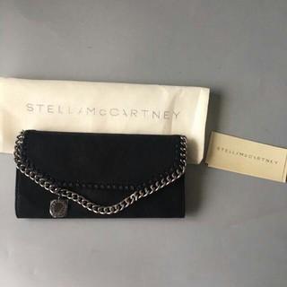 Stella McCartney - ステラマッカートニー 長財布 ブラック