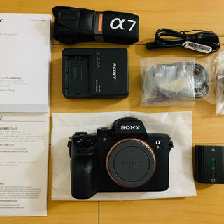 SONY - SONY α7R III ILCE-7RM3 液晶保護シート付、中古美品α7rⅲ