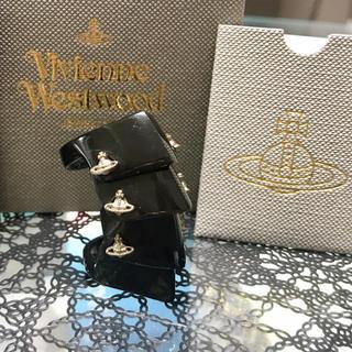 ヴィヴィアンウエストウッド(Vivienne Westwood)の美品 完売 ヴィヴィアン アーマーリング S ブラック(リング(指輪))