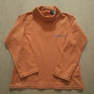 コムサイズム(COMME CA ISM)のコムサイズム☆ハイネック ロンT トップス 男女兼用 95 100(Tシャツ/カットソー)