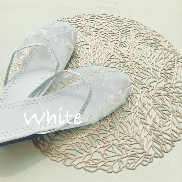 mystic(ミスティック)の【数量限定】メッシュ サンダル ベトナム 刺繍 333 レディースの靴/シューズ(サンダル)の商品写真