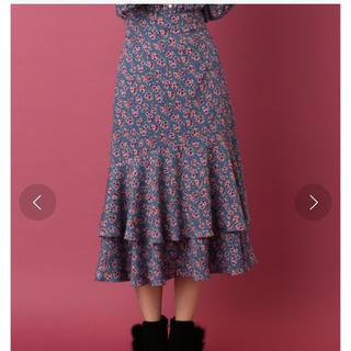 デイシー(deicy)のdeicy ノスタルジックフラワースカート(ひざ丈スカート)