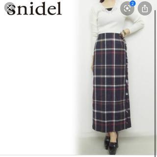 snidel - チェックスカート