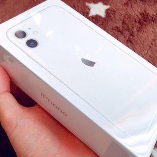 iPhone - iPhone11 128GB SIMフリー 本体 ホワイト