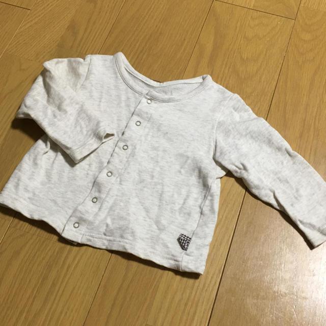 ベルメゾン(ベルメゾン)のカーディガン 80cm キッズ/ベビー/マタニティのベビー服(~85cm)(カーディガン/ボレロ)の商品写真