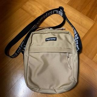 Supreme - Supreme 18ss Shoulder Bag tan