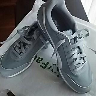 プーマ(PUMA)のプーマ ランニングshoes グレー 24.5センチ(スニーカー)