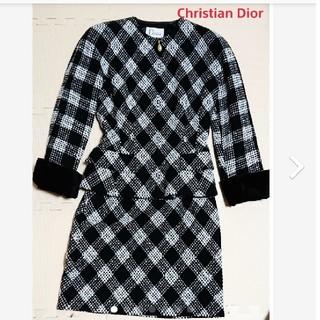 クリスチャンディオール(Christian Dior)のヴィンテージ クリスチャン・ディオールスーツ(スーツ)