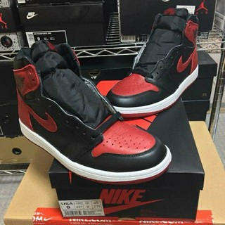 "NIKE - AIR JORDAN 1 RETRO HIGH OG ""BRED BANNED"""