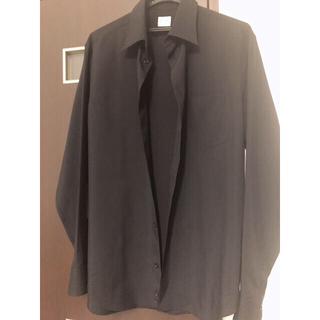 アルマーニ コレツィオーニ(ARMANI COLLEZIONI)のアルマーニ 黒シャツ(シャツ)