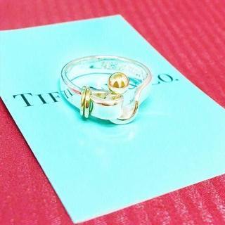 ティファニー(Tiffany & Co.)の☆新品☆未使用☆ティファニー フック&アイ リング7号(リング(指輪))