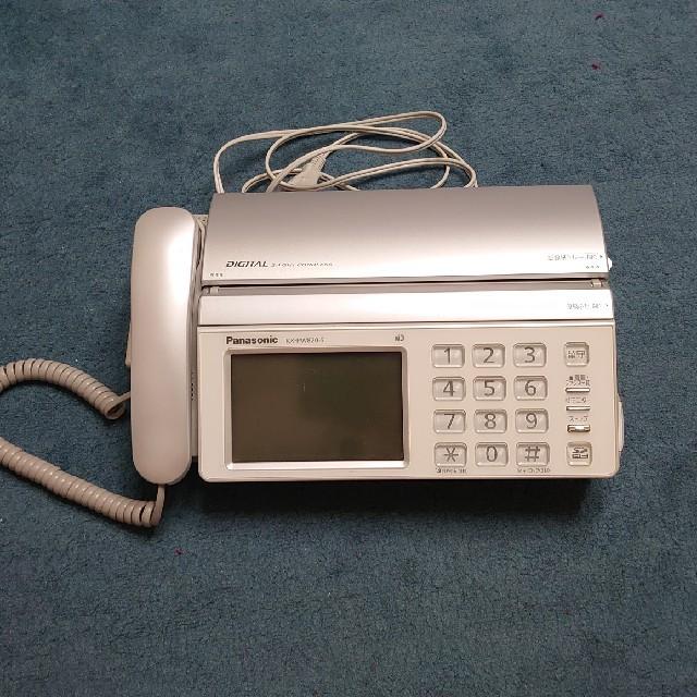 Panasonic(パナソニック)のファックス インテリア/住まい/日用品のオフィス用品(オフィス用品一般)の商品写真