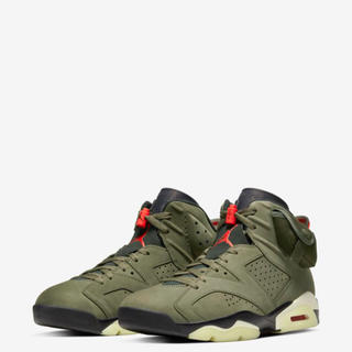NIKE - (23.5) Air Jordan 6Travis Scott SP GS