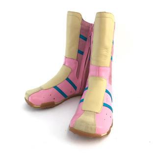 ディーゼル(DIESEL)の❤️セール❤️ デーゼル DIESEL ブーツ ピンク ライトイエロー 靴(ブーツ)