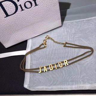 ディオール(Dior)のdiorチョーカー(ネックレス)