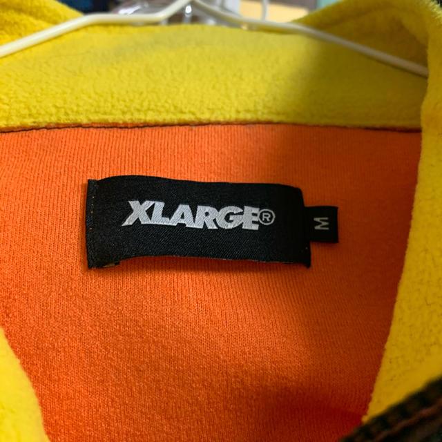 XLARGE(エクストララージ)のXLARGE ハーフジップ メンズのジャケット/アウター(ナイロンジャケット)の商品写真
