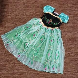 100 アナ雪 ドレス(ワンピース)