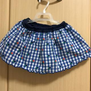 ファミリア(familiar)のファミリアスカート(パンツ付き)70cm(スカート)