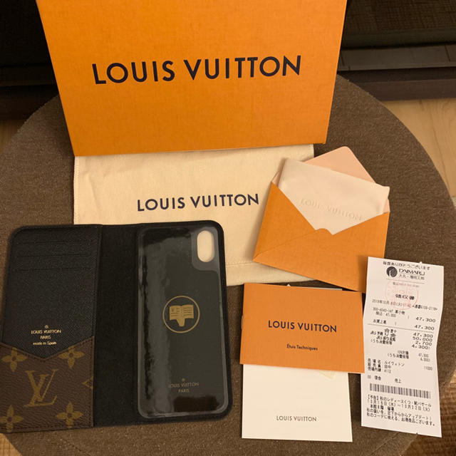 LOUIS VUITTON - ルイヴィトンiPhone x.xsカバーの通販