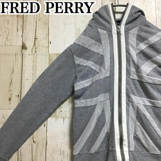 FRED PERRY - 【フレッドペリー】【ワンポイント】【ロゴ刺繍】【フルジップ 】【パーカー】