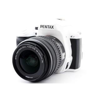 PENTAX - ☆おしゃれなホワイト♪Wi-Fiカード SD付き☆ペンタックス K-r