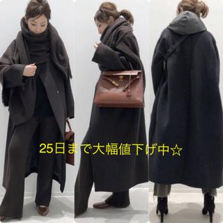 DEUXIEME CLASSE - アパルトモン購入★Oversized LAMB Coat ブラック