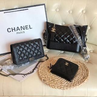 CHANEL - CHANELシャネル ショルダーバッグ 財布 3点セット