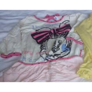 ハローキティ(ハローキティ)のサンリオ、ディズニー100cm長袖3点、110cm半袖1点セット(Tシャツ/カットソー)