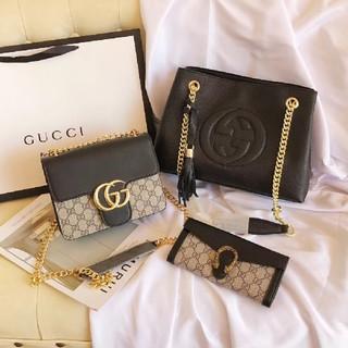 Gucci - Gucciグッチ ショルダーバッグ 財布 3点セット