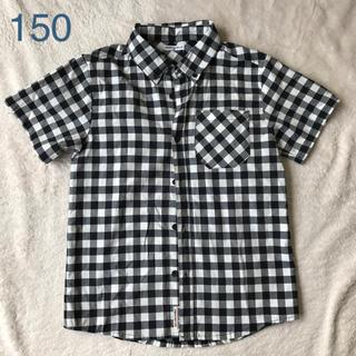 GU - 半袖チェックシャツ 半袖 150 BRIGHTON BELLE