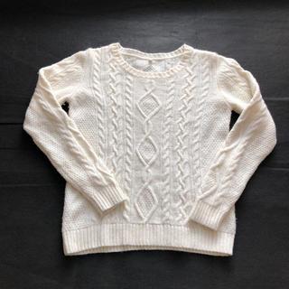 MUJI (無印良品) - セーター  ニット (オフホワイト)