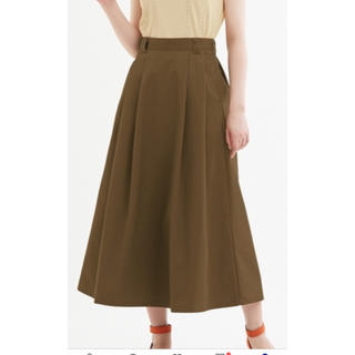 GU - GUチノフレアロングスカート