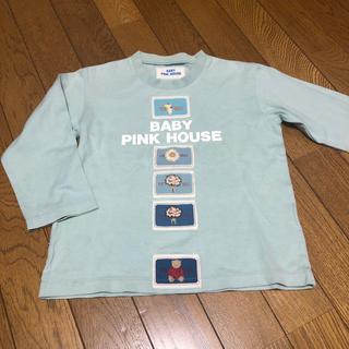 ピンクハウス(PINK HOUSE)の子供用 ブルー Tシャツ(Tシャツ/カットソー)